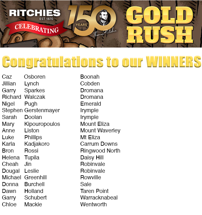Ritchies Gold Rush